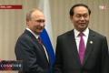 Выпускник отделения журналистики ЧувГУ освещает визит Президента России В.В. Путина в Перу