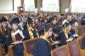 Вручение дипломов выпускникам-журналистам Чувашского госуниверситета (видео)