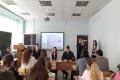 Студентка Чувашского госуниверситета, чемпионка мира по каратэ Ангелина Гордеева провела пресс-конференцию... для журналистов-однокурсников