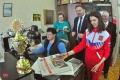 Лана Прусакова побывала в редакции газеты «Советская Чувашия»