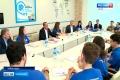 Студенты Чувашского госуниверситета пообщались с главой республики