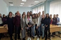 Студенты-журналисты Чувашского госуниверситета провели пресс-конференцию с пятикратной чемпионкой мира по художественной гимнастике Евгенией Левановой