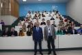 В Чувашском госуниверситете председатель Союза журналистов России В.Г. Соловьев встретился с будущими специалистами медиаотрасли